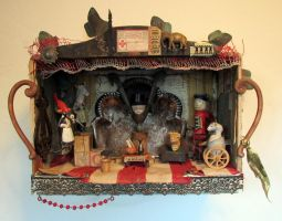 Assemblage: The Coterie by bugatha1