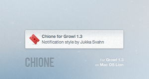Chione for Growl by Gocom