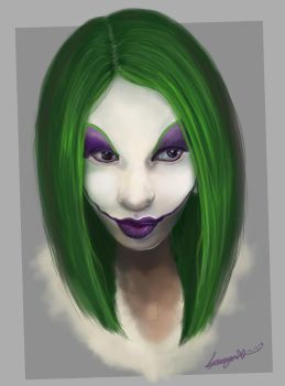 Miss-Direction Joker by missimoinsane
