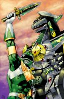 The Green Ranger by diabolicol