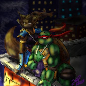 Midnight Patrol - Turkituck by tmntart