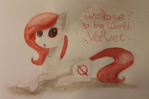 [Paint] [Entrie] Welcome to the world Velvet by hylidia