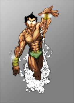 Namor: The Sub-Mariner ColorZ by AirBornInk22