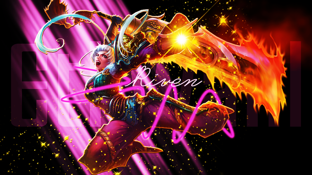 Dragonblade Riven Background by Ethwahl