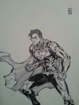 superman inks by RyanAtchley