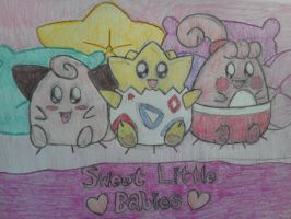 KAWAII Pokemon: Togepi, Cleffa and Happiny!