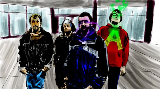 Mike Garret Anthony Me Comic Style Effects Lin by nterthehammer