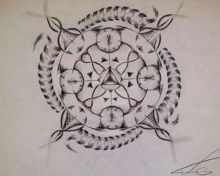 Transmutation circle by Discomposed