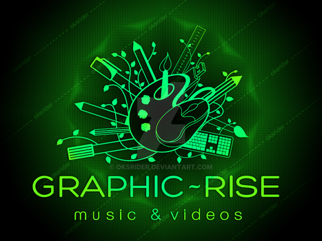 Graphic Rise Logo For Deviant art by Oksrider