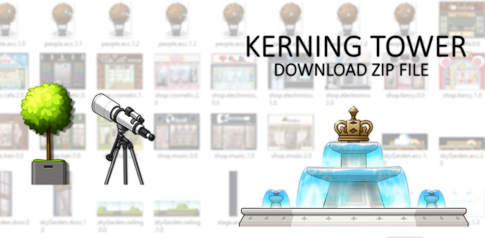 KERNING TOWER MAP PACK by Fluffycloudkit