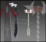 CM: Weapon Redesign by IdunaHayaDesigns