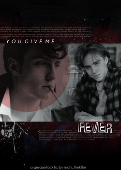 You Give Me Fever :: Book Cover by Holophrasic