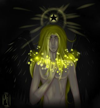 [Necklace of Stars] by 66Isamine66