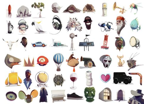 Various Things by Ben-Olive