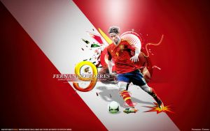 Torres 9 Spain national football team by namo, by 445578gfx