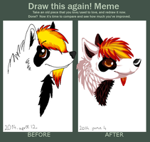 Meme  Before And After by AuroraRaw