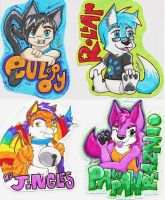 Badge Commissions by TunnySaysIDK