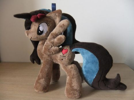 Alice OC - My Little Pony Plush by Masha05