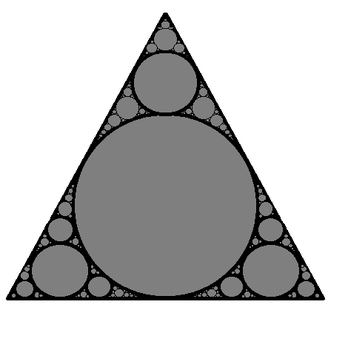 Apollonian gasket by me450